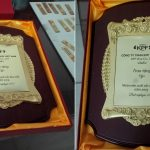 Bảng trao tặng nhân viên xuất sắc Công ty TNHH KPF Việt Nam