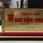 Biển chức danh hãng sơn Đại Việt