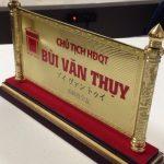 Làm biển chức danh để bàn đẹp giá rẻ nhất Hà Nội được ưa chuộng nhất năm 2020