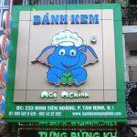 Mẫu biển quảng cáo cửa hàng bánh sinh nhật đẹp 'Xuất Sắc' hút khách