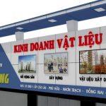 Điểm danh mẫu biển quảng cáo công ty xây dựng đẹp Xuất Sắc