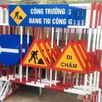 Nhận làm biển báo giao thông, biển báo công trình tại Hà Nội