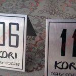 Làm biển số để bàn cho nhà hàng giá rẻ đa dạng mẫu mã