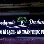 Làm Biển Hộp Đèn Mica khắc CNC Âm Bản giá rẻ tại Hà Nội