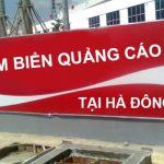Làm biển quảng cáo tại Hà Đông