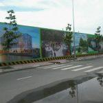 Bản vẽ thiết kế hàng rào tôn công trường mới nhất 2021