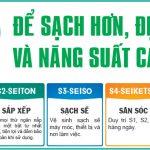 Làm bảng quy trình 5S Nhật Bản giá rẻ nhất tại Hà Nội lấy ngay