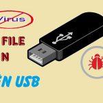 Cách mở file ẩn trong usb đơn giản thành công 100% chỉ 20s