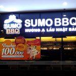 Thi công Biển Quảng Cáo Nhà Hàng Thịt Nướng Sumo