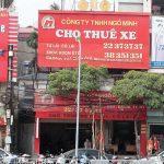 120+ Mẫu biển quảng cáo cho thuê xe du lịch đẹp nhất Việt Nam